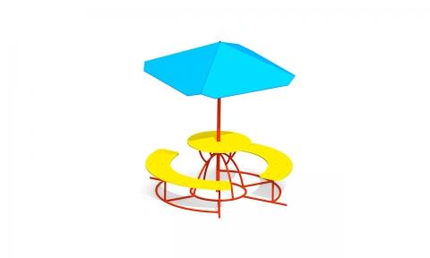 Детский столик с зонтиком З-5