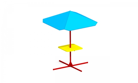 Детский столик с зонтиком З-8
