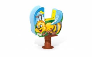 """Качалка на пружине МК-21 (047) """"Пчелка"""""""