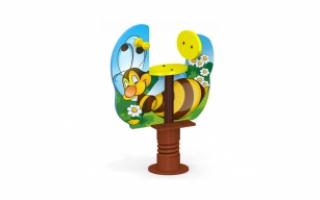 """Качалка на пружине МК-21н (153) """"Пчелка"""""""