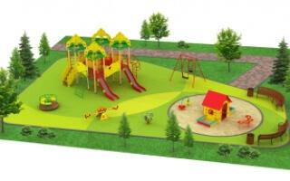 "Детские площадки в стиле ""Бизнес"""