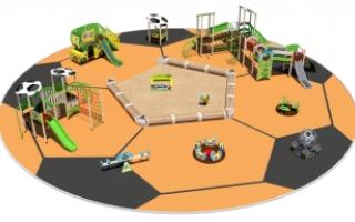 "Детские площадки в стиле ""Футбол"""