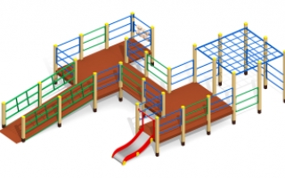 Игровой комплекс для детей с ограниченными возможностями Г-401
