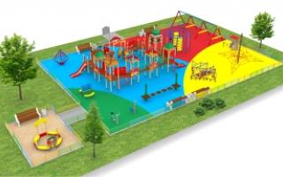 """Детские площадки в стиле """"Кремль"""""""