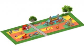"""Детские площадки в стиле """"Лондон"""""""