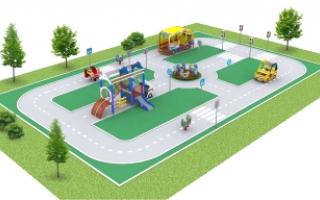 """Детские площадки в стиле """"МЧС"""""""