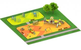"Детские площадки в стиле ""Мексика"""