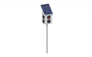 2-х секционный светофор МП-2/1 с подсветкой