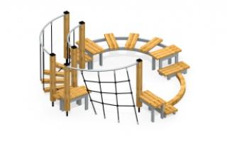 Модульная полоса препятствий МПП-5