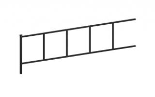 Ограждение металлическое О-311