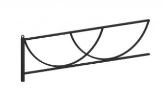 Ограждение металлическое О-313