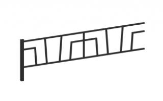 Ограждение металлическое О-316