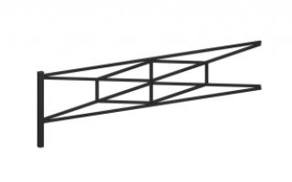 Ограждение металлическое О-317