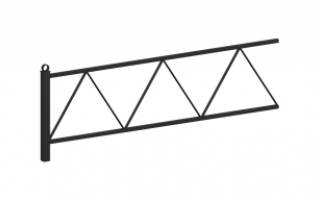 Ограждение металлическое О-324