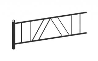 Ограждение металлическое О-325