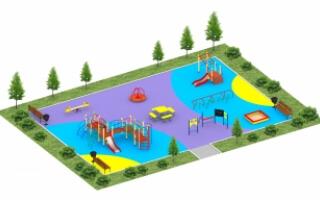 Детские площадки серии Эконом