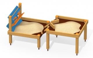 Песочница для детей с ограниченными возможностями ПО-3