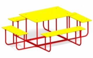 Детский столик СТ-3