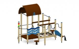 Игровой комплекс для детей с ограниченными возможностями Т-149