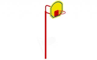 Баскетбольная стойка Т-42 м (большая)