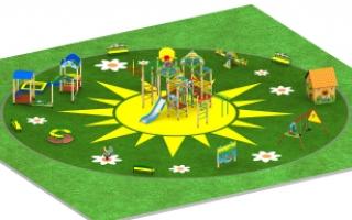 "Детские площадки в стиле ""Три поросенка"""