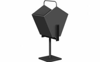 Металлическая урна для мусора У-4