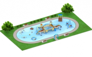 """Детские площадки в стиле """"Венеция"""""""