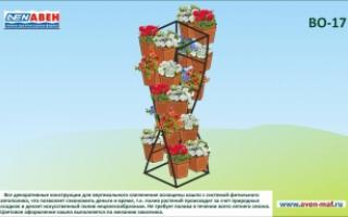 Вертикальное озеленение ВО-17