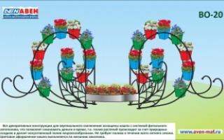 Вертикальное озеленение ВО-20