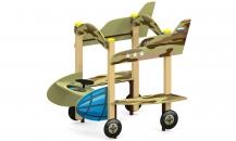 """Игровой элемент для детей с ограниченными возможностями ДО-18/1 """"Самолет"""""""