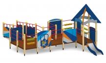 """Игровой комплекс для детей с ограниченными возможностями Г-403 """"Сити H"""""""