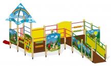 """Игровой комплекс для детей с ограниченными возможностями Г-403 """"Сказка"""""""