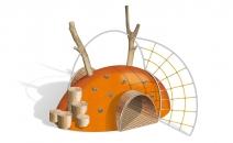 Игровой комплекс Холм (геопластика) ГХ-5