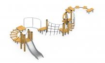 Модульная полоса препятствий МПП-4
