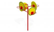 Баскетбольная стойка Т-45м