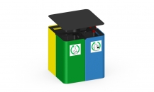 Сортировочная урна для мусора У-210