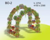 Вертикальное озеленение ВО-2