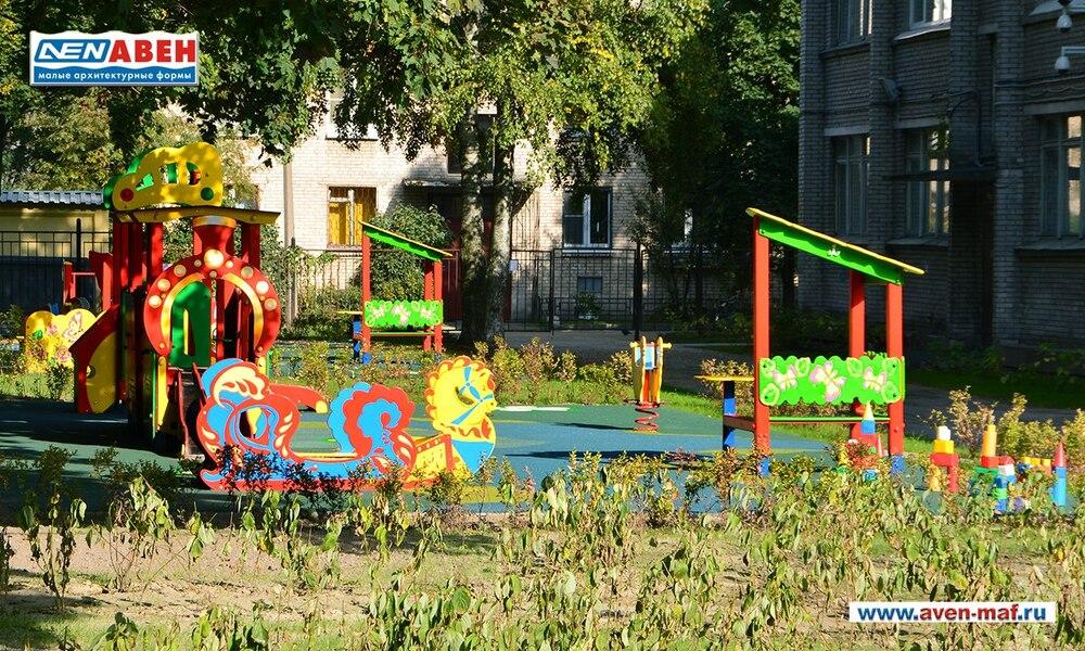 Летние детские площадки